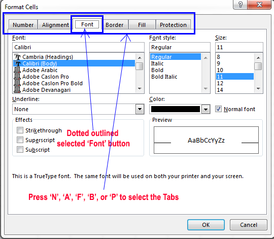 Working with dialog boxes in Excel