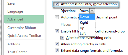 What is active cell in Excel