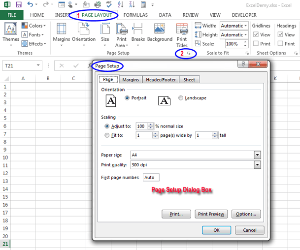 What is Ribbon in Excel