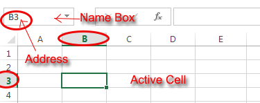 Excel 2013 Name Box