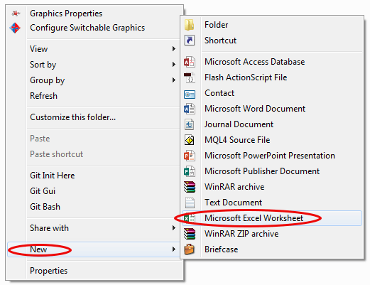 how to create a workbook in excel 2013