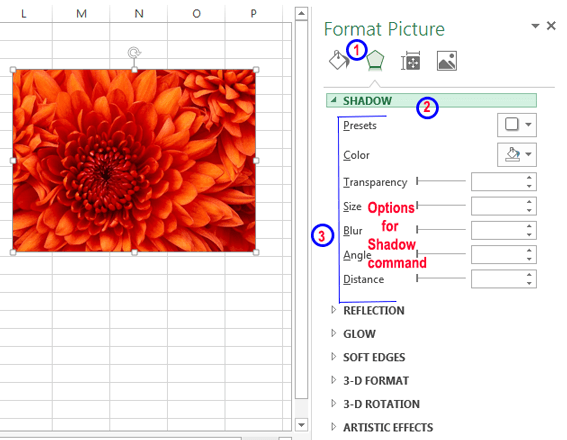 Using task pane in Excel