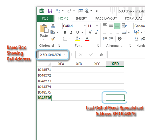 What is an active cell in Excel