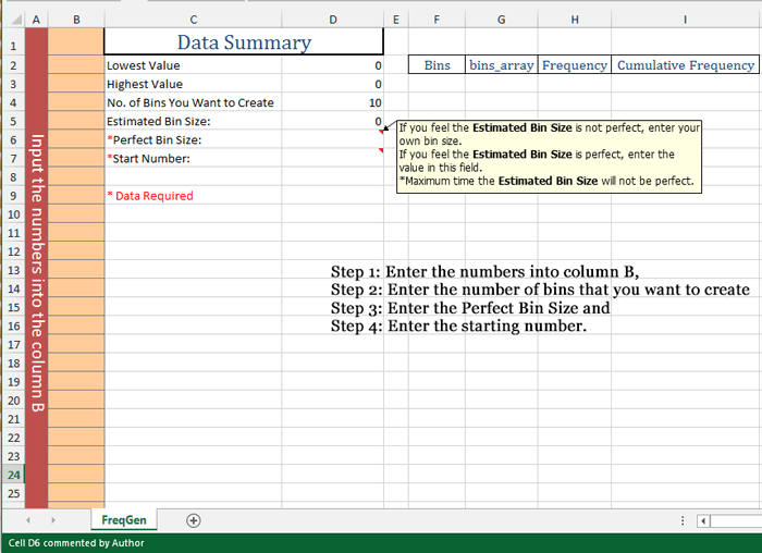 How to make a frequency distribution table graph in excel for Frequency table template