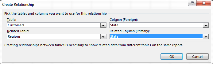 Using the Data Model in Excel