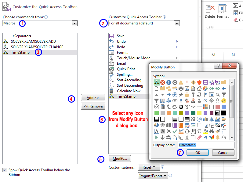 How to add a macro to your Quick Access toolbar in Excel