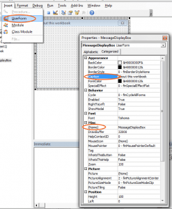 how to create a userform in excel 2013
