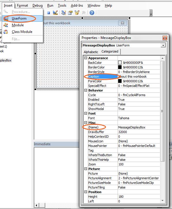 open pdf in userform vba
