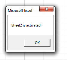 how to add a click event handler in excel