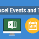 What are Excel Events and Their Types
