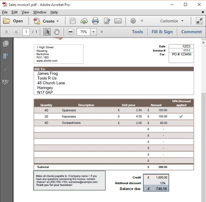 Excel Skills - Convert Your Excel Worksheet to PDF