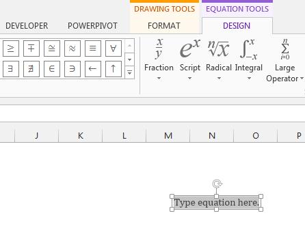 Contextual Tabs in Excel