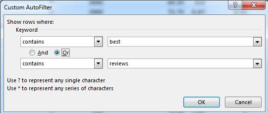 Excel Advanced Filter [Multiple Columns, Criteria, Formula & Wildcards]