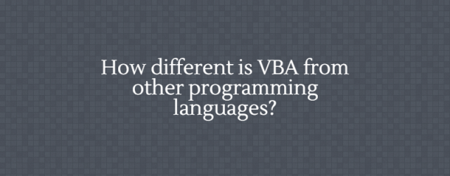 difference-of-VBA-from-other-programming-languages
