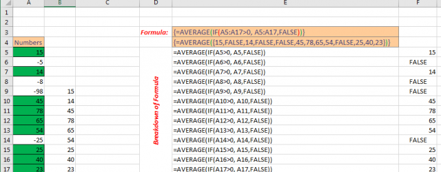Excel Array Formula Basic Image 1