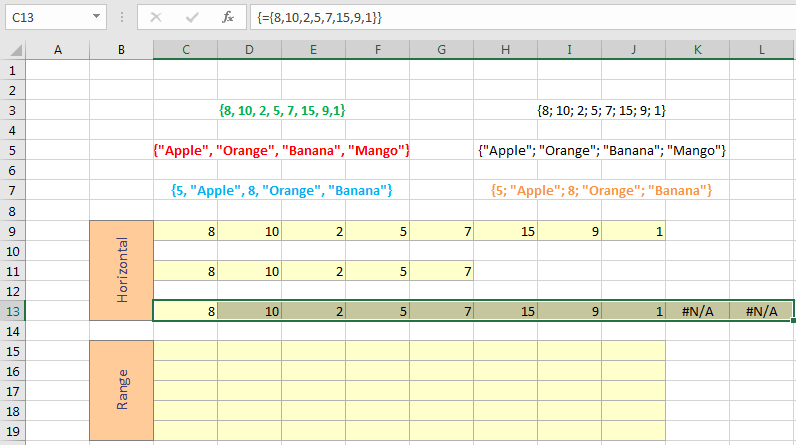 Excel Array Formulas Image 4