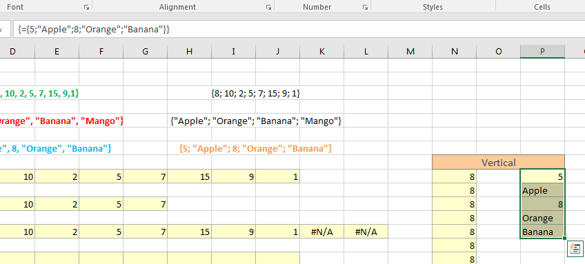 Excel Array Formulas Image 7