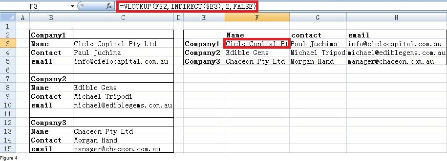 Excel Indirect Function Image 4
