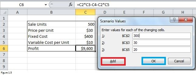 How To Use Scenario Manager In Excel With Examples Exceldemy