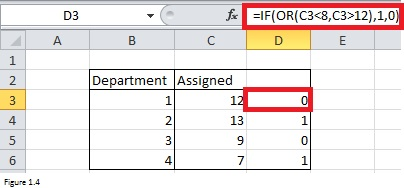 IF Function in Excel