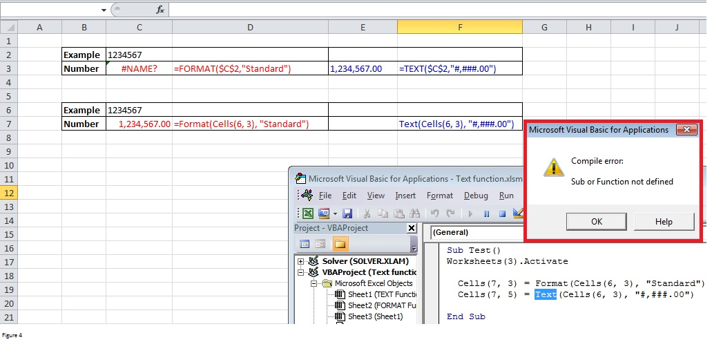Text and Format Function in Excel Image 4