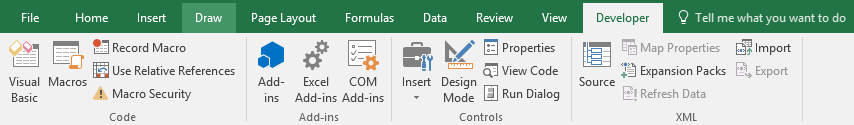 How to make an Excel Add-in Image 3