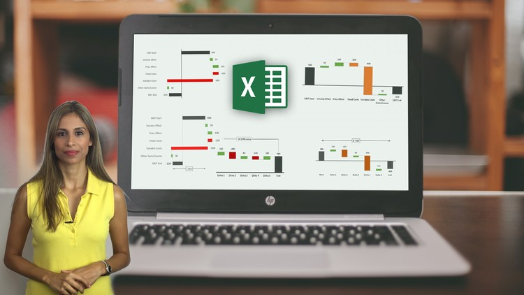 Ultimate Excel Waterfall Chart Course  Udemy