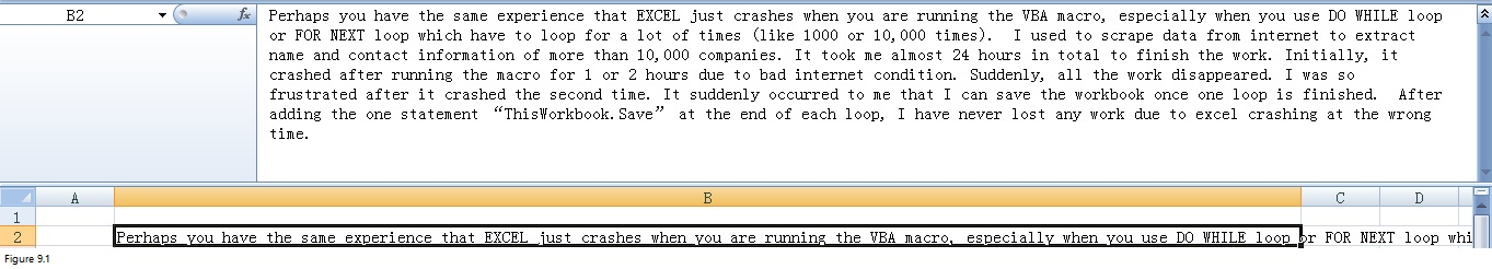 Top 20 Excel Limitations Image 9.1
