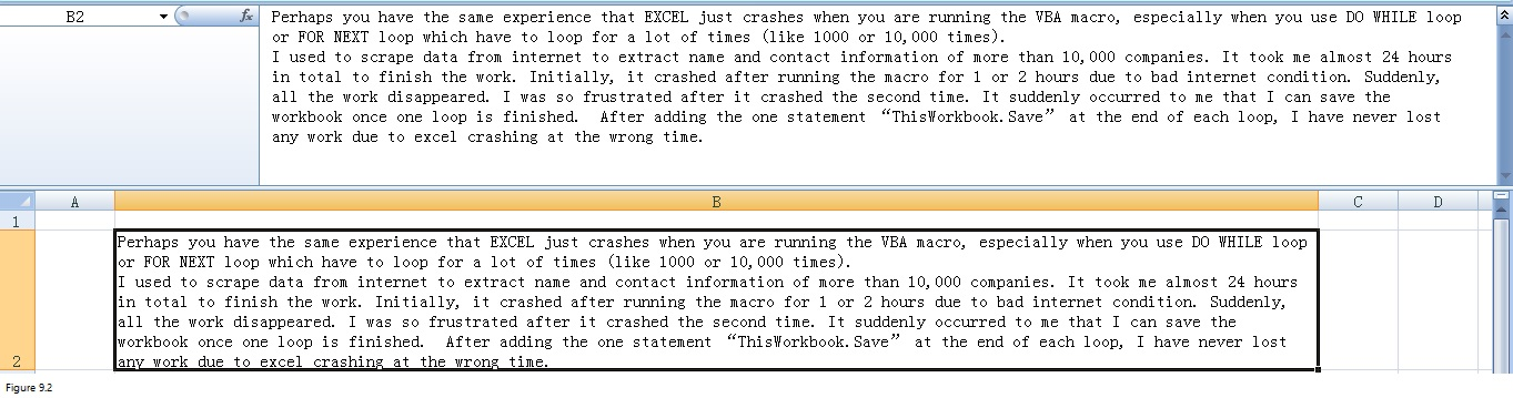 Top 20 Excel Limitations Image 9.2