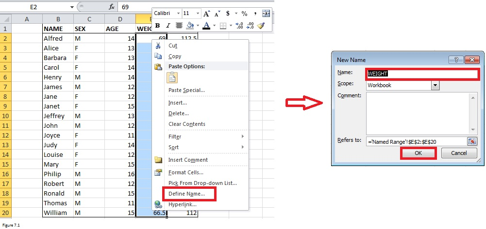 Top Excel Functions and Features for Management Consultants Figure 7.1