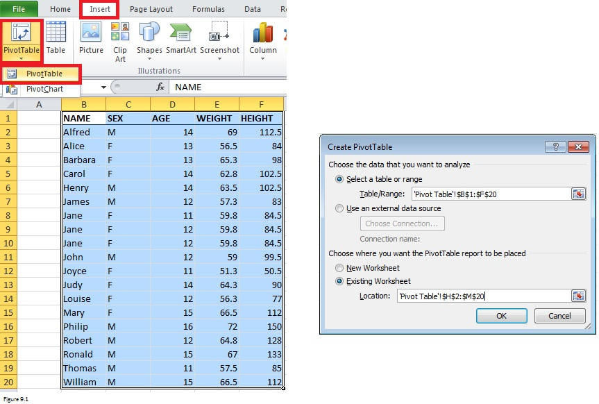 Top Excel Functions and Features for Management Consultants Figure 9.1