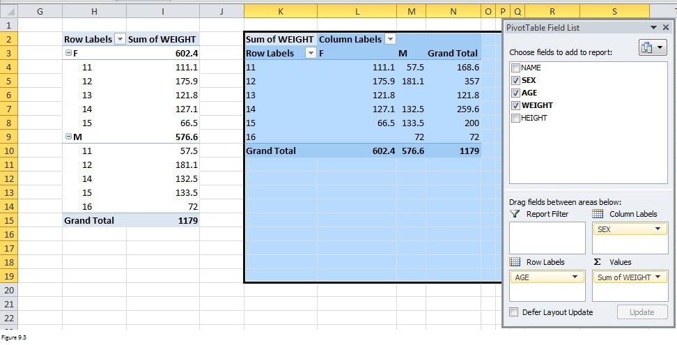 Top Excel Functions and Features for Management Consultants Figure 9.3