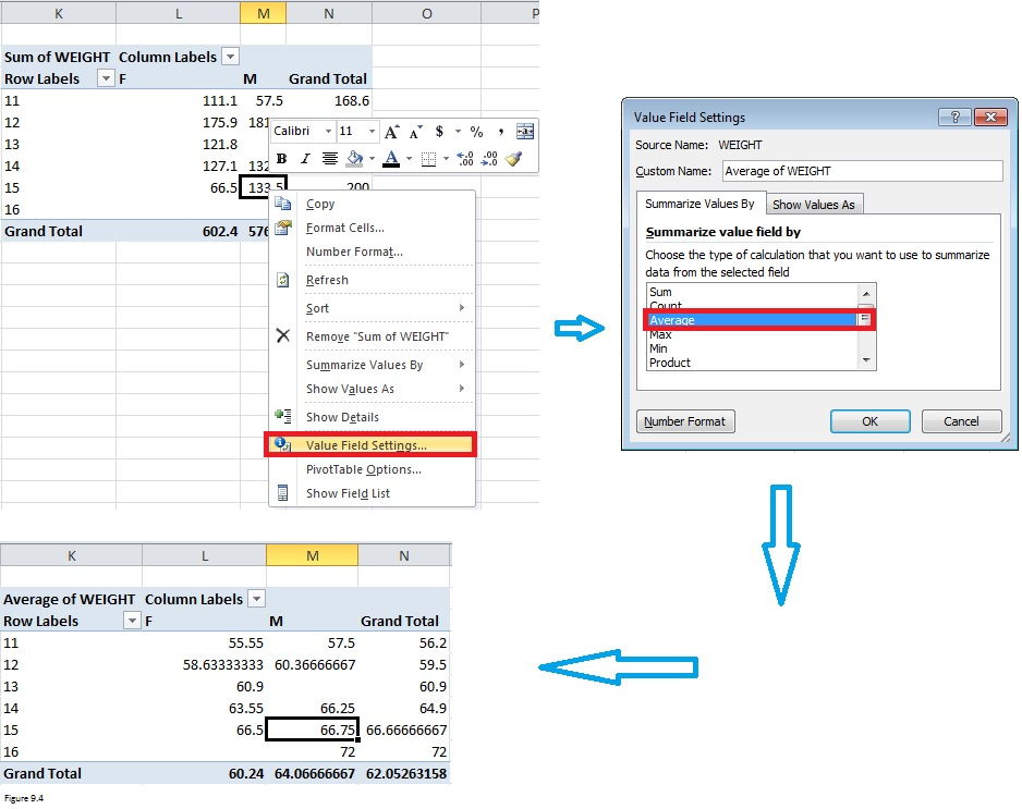 Top Excel Functions and Features for Management Consultants Figure 9.4