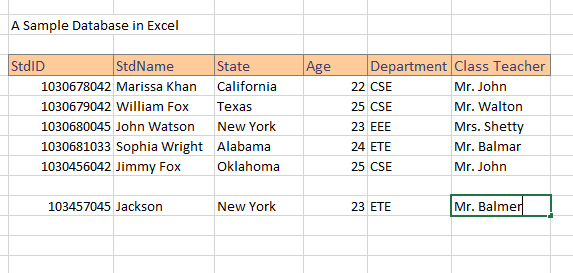 how to create a database in excel make in 8 easy steps exceldemy