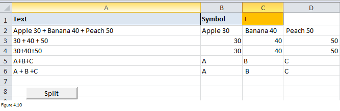 Excel Substring Functions Figure 4.10