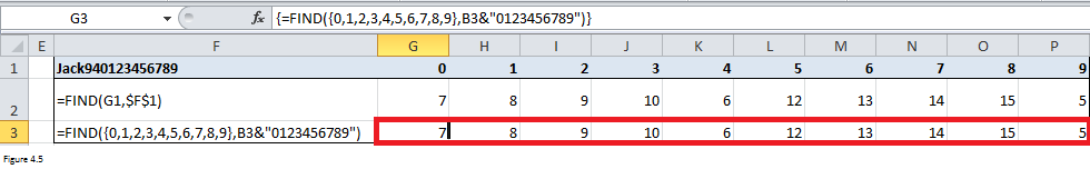 Excel Substring Functions Figure 4.5
