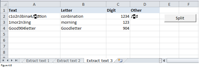 Excel Substring Functions Figure 4.6