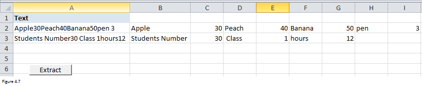 Excel Substring Functions Figure 4.7