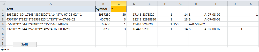 Excel Substring Functions Figure 4.8