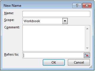 New Name, Dialog Box