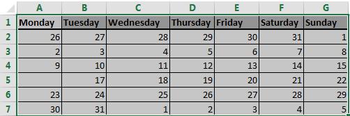 Dynamic Named Range, Excel, Blank Cells