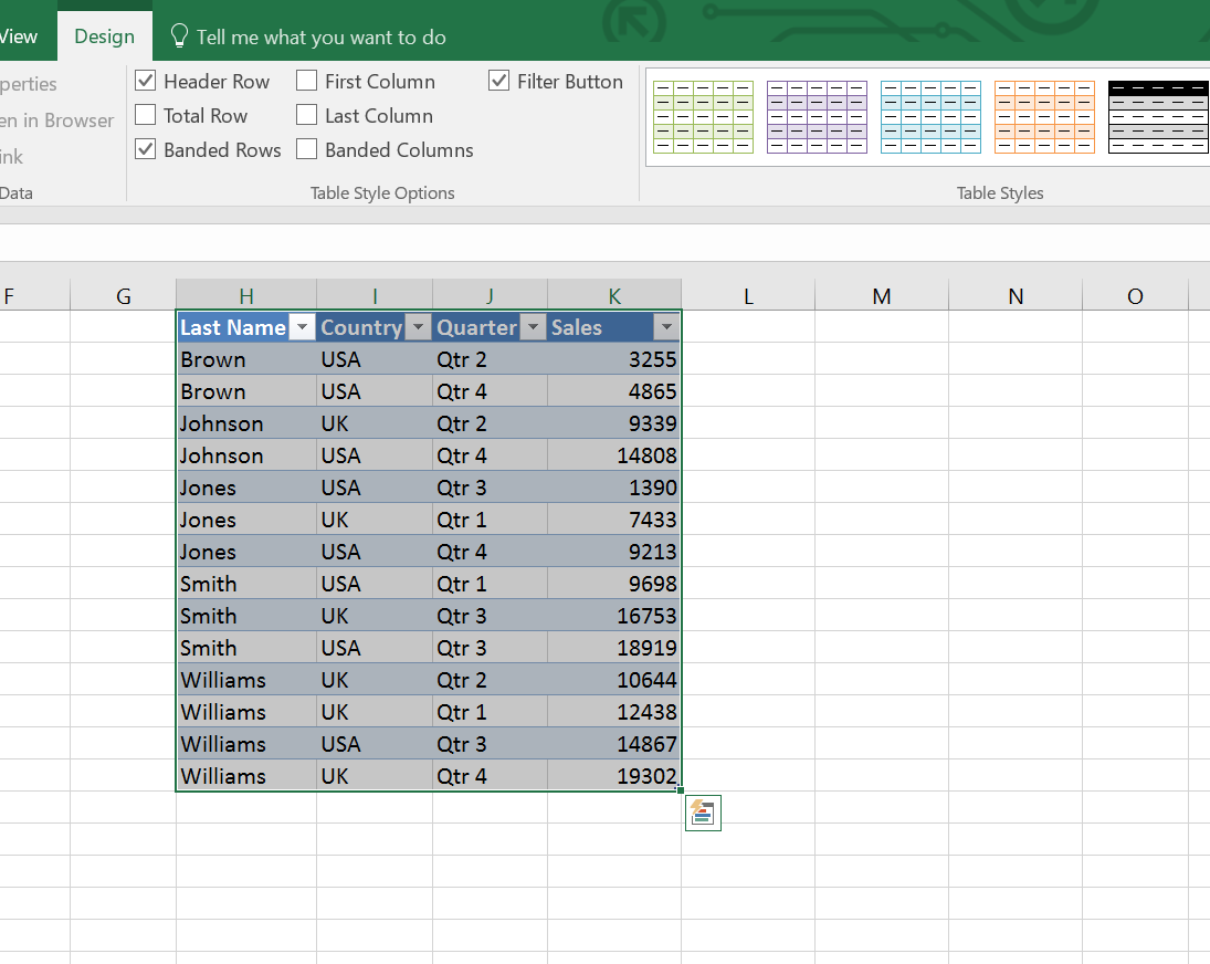 Excel Table Image 2