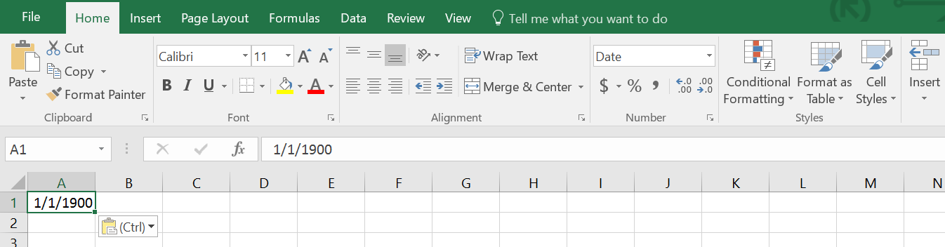 Date, Time, Excel