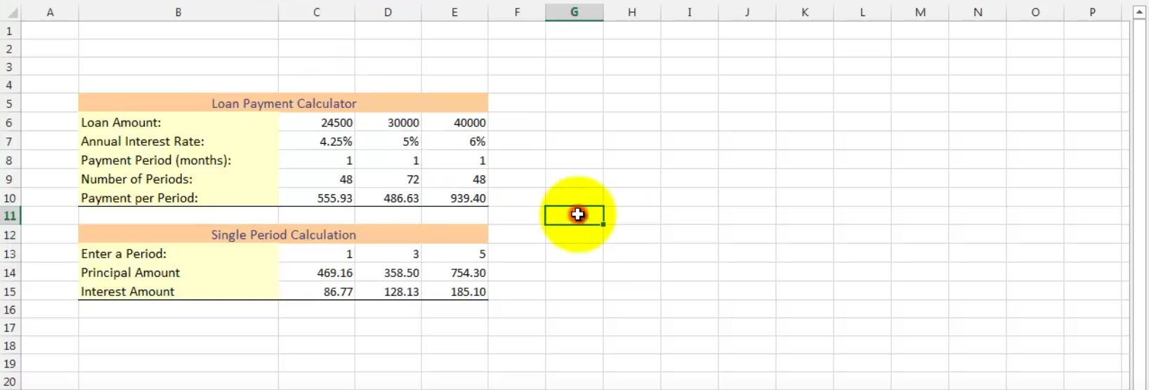 Add Remove Cell Borders in Excel