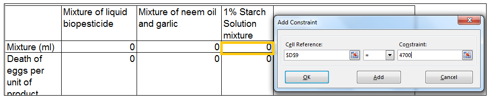 Excel, Solver, How to Use