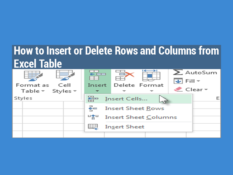 Download excel keyboard shortcut delete row gantt chart excel template - How to add a column in a table ...