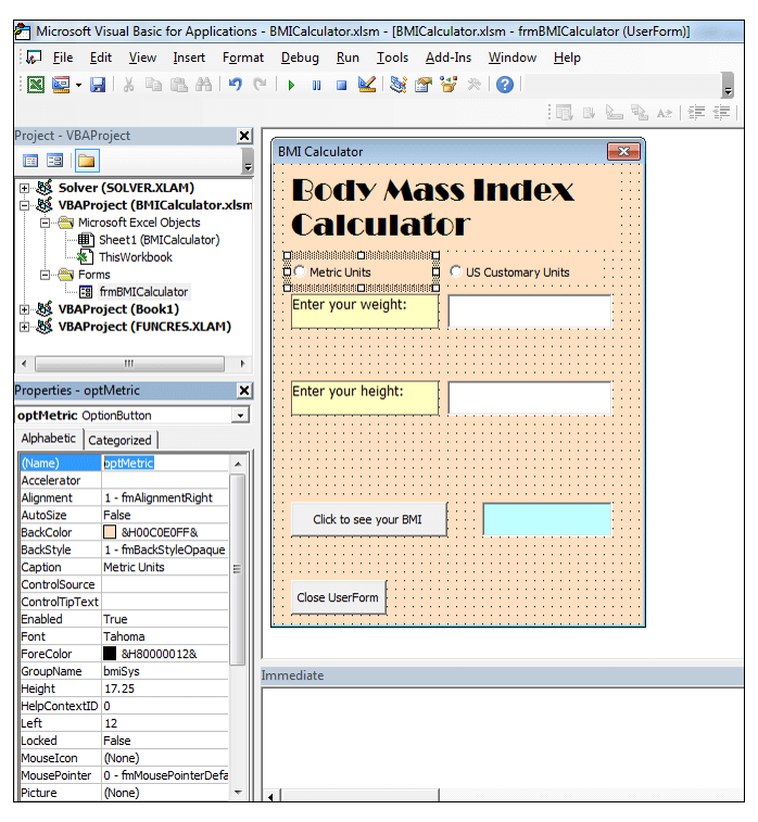 How to Create a Body Mass Index (BMI) Calculator in Excel