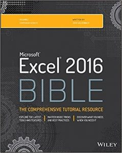 Excel Bible 2016. Best Excel Book for beginners