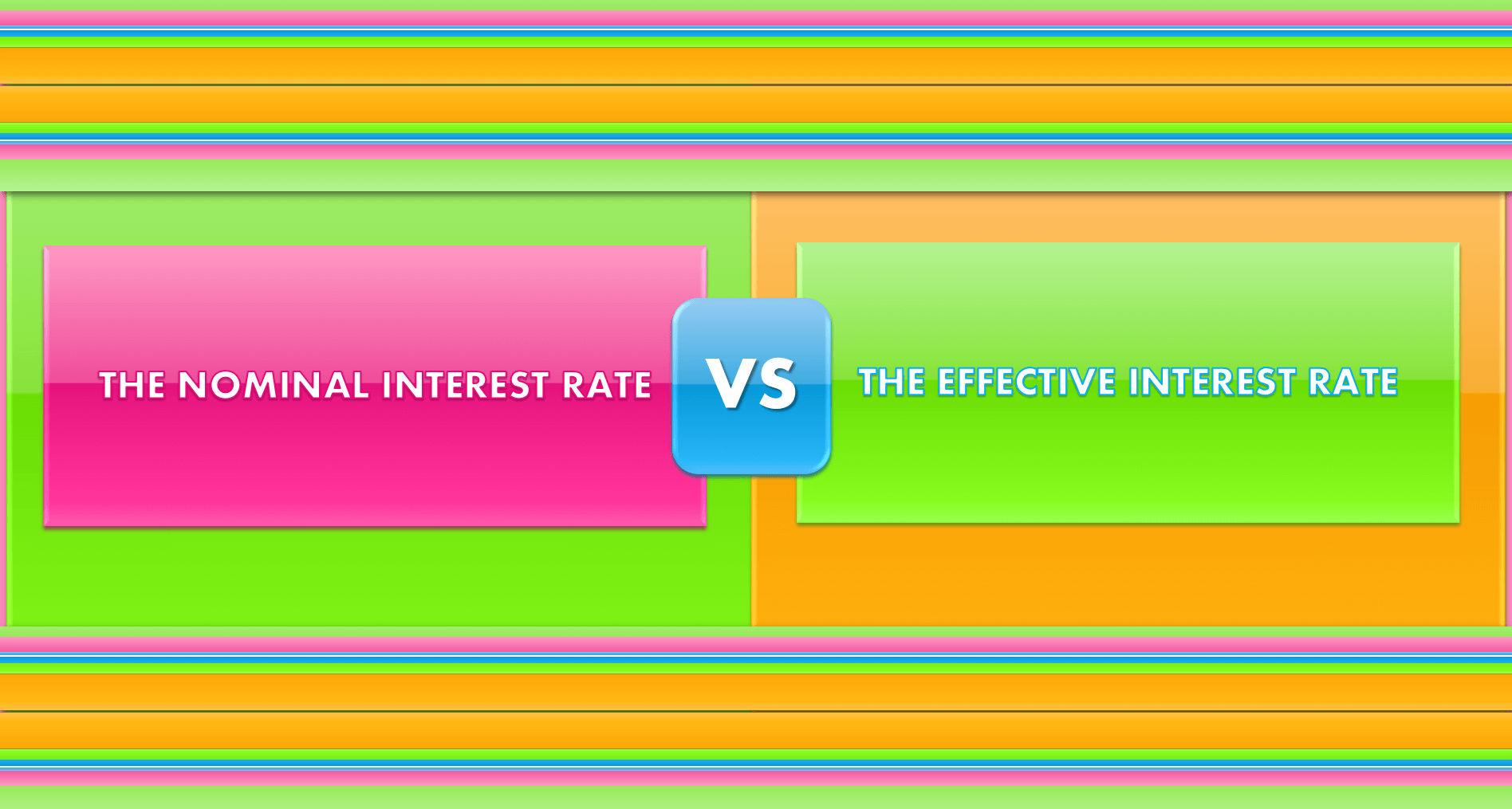 how to get effective annual rate from nominal