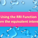 RRI Function in Excel